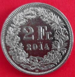 2 Francs 2014