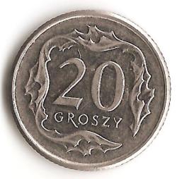 Imaginea #1 a 20 Groszy 2015
