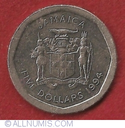 Image #1 of 5 Dollars 1994