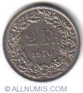 Image #2 of 2 Francs 1970
