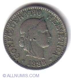 Image #1 of 10 Rappen 1883