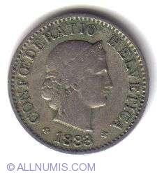 Image #1 of 5 Rappen 1883