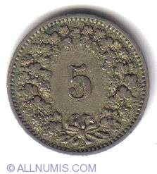Image #2 of 5 Rappen 1883