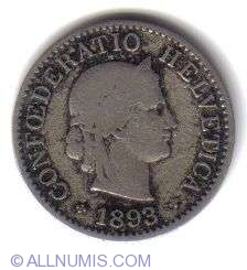 Image #1 of 5 Rappen 1893