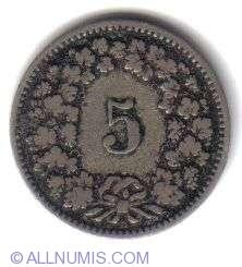 Image #2 of 5 Rappen 1893