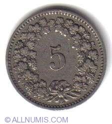 Image #2 of 5 Rappen 1898