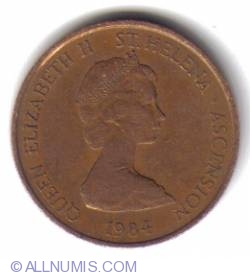 Image #2 of 1 Penny 1984