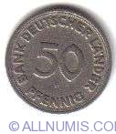 Imaginea #1 a 50 Pfennig 1949 F