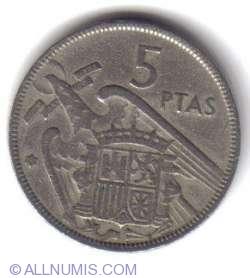 5 Pesetas 1957 (62)