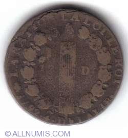 Image #2 of 12 Denier 1792 A