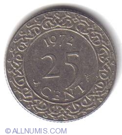 Image #2 of 25 Cents 1972