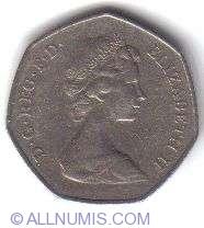 Imaginea #2 a 50 Pence 1973 - Aderarea Britaniei la CEE