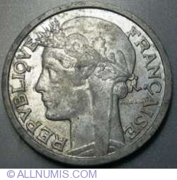 Image #2 of 2 Francs 1941