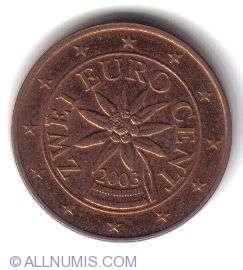 Imaginea #2 a 2 Euro Centi 2003