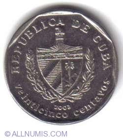 Imaginea #1 a 25 Centavos 2003