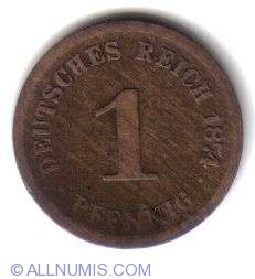 Image #1 of 1 Pfennig 1874 D