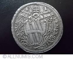Testone (30 Baiocchi) 1734