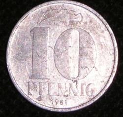 10 Pfennig 1981 A