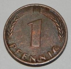 Image #1 of 1 Pfennig 1970 G