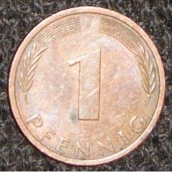 Image #1 of 1 Pfennig 1975 J