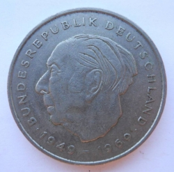 Image #2 of 2 Mark 1973 J - Theodor Heuss