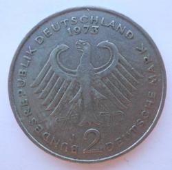 Image #1 of 2 Mark 1973 J - Theodor Heuss