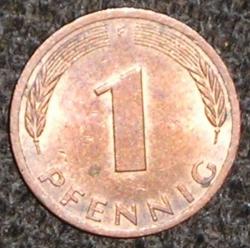 Image #1 of 1 Pfennig 1978 F