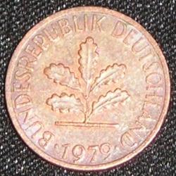 Image #2 of 1 Pfennig 1979 J