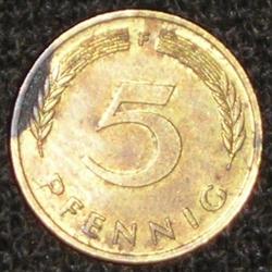 5 Pfennig 1979 F