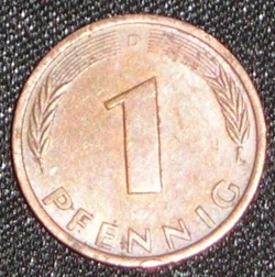 Image #1 of 1 Pfennig 1981 D