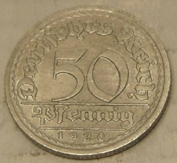 Image #1 of 50 Pfennig 1920 E