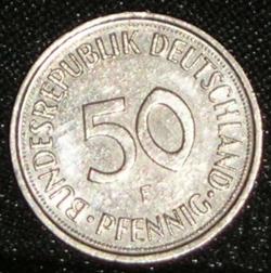 Imaginea #1 a 50 Pfennig 1982 F