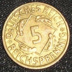 Image #1 of 5 Reichspfennig 1936 A