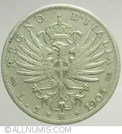 Image #1 of 1 Lira 1905