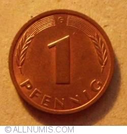 Image #1 of 1 Pfennig 1993 G