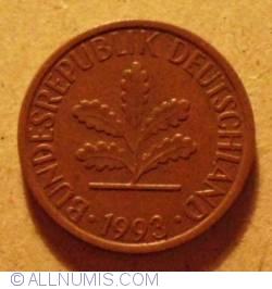 Image #2 of 1 Pfennig 1993 G