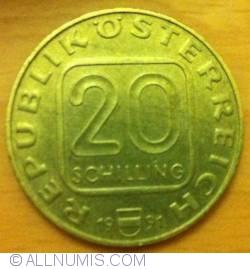 Image #1 of 20 Schilling 1991 - Georgenberger Handfeste, (styria)