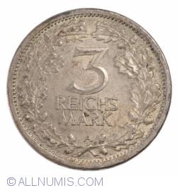 Image #1 of 3 Reichsmark 1931 A