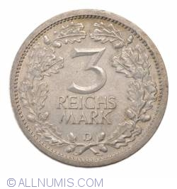 Image #1 of 3 Reichsmark 1932 D