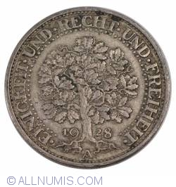 Image #2 of 5 Reichsmark 1928 A