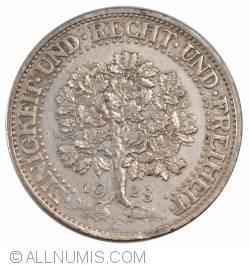 Image #2 of 5 Reichsmark 1928 F