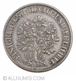 Image #2 of 5 Reichsmark 1928 G