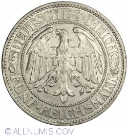 Image #1 of 5 Reichsmark 1931 A