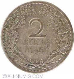 Image #1 of 2 Reichsmark 1925 F