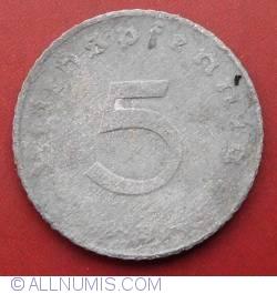 5 Reichspfennig 1942 B