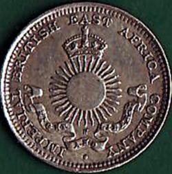 2 Annas 1890 H