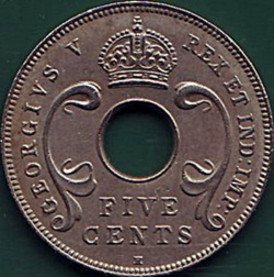 Image #1 of 5 Cents 1913 H