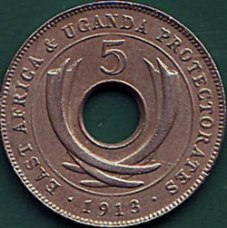 5 Cents 1913 H