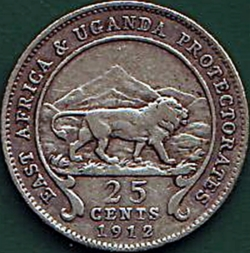 25 Cents 1912