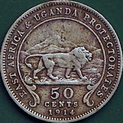 50 Cents 1914 H